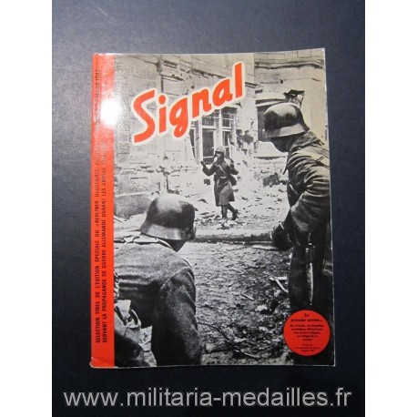 SIGNAL JOURNAL DE PROPAGANDE ALLEMANDE REEDITION TOME III