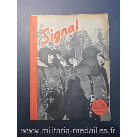 SIGNAL JOURNAL DE PROPAGANDE ALLEMANDE 1er NUMERO DE MARS 1943 N°5