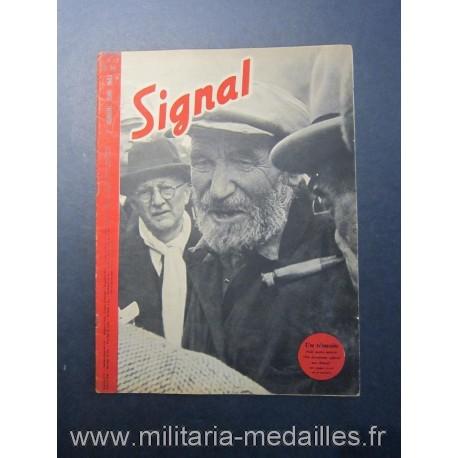 SIGNAL JOURNAL DE PROPAGANDE ALLEMANDE 2ème NUMERO DE JUIN 1943 N°12