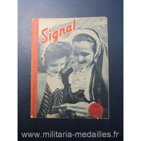 SIGNAL JOURNAL DE PROPAGANDE ALLEMANDE 2ème NUMERO DE SEPTEMBRE 1943 N°18