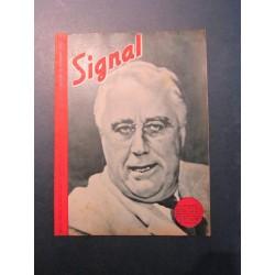 SIGNAL JOURNAL DE PROPAGANDE ALLEMANDE 1 er NUMERO DE NOVEMBRE 1943 N°21