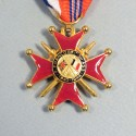 MEDAILLE D'OFFICIER DE L'ASSOCIATIONS DES ANCIENS COMBATTANTS FRANCO BRITANIQUE DE LA FRANCE LIBRE