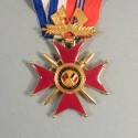 MEDAILLE DE COMMANDEUR DE L'ASSOCIATIONS DES ANCIENS COMBATTANTS FRANCO BRITANIQUE DE LA FRANCE LIBRE