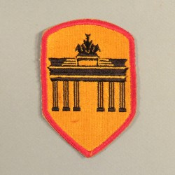 INSIGNE TISSU AMERICAIN DISTRICT DE BERLIN US PATCH