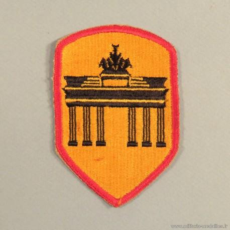 INSIGNE TISSU AMERICAIN DISTRICT DE BERLIN US PATCH