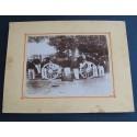 GRANDE PHOTO DU 2 ème REGIMENT D'ARTILLERIE 1905 CANON DE 75