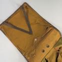 SAC A DOS ALLEMAND HAVRESAC MODELE 1944 RIVETE SAC A DOS POILES DE VACHE AVEC BRETELLES ET REGIMENTEES