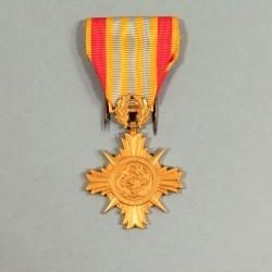 VIETNAM MEDAILLE D'HONNEUR DES FORCES ARMEES 1 ère CLASSE POUR OFFICIERS