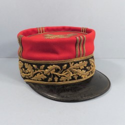 SUPERBE !! KEPI DE GENERAL DE BRIGADE MODELE 1884 FABRICATION BIDAL PARIS