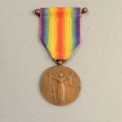 MEDAILLE INTERALLIEE DE LA VICTOIRE DE LA GRANDE GUERRE 1914-1918 GRAVEUR CHARLES
