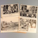 POCHETTE DE 8 PHOTOS DES ACTUALITES ALLEMANDE 7-7-1941 AKTUELLER BILDERDIENST FRONT RUSSE