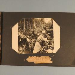 BEL ALBUM DE 23 GRANDES PHOTOS DE LA GUERRE DE 1914 - 1918 GENERAL DE MAUD'HUY VILLAGE DE BERCY HOPITAL PREMIERE SECONDE LIGNE