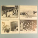 POCHETTE DE 8 PHOTOS DES ACTUALITES ALLEMANDE 19-6-1941 AKTUELLER BILDERDIENST BERLIN JAPON RAD MARINE