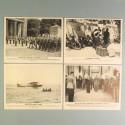 POCHETTE DE 8 PHOTOS DES ACTUALITES ALLEMANDE 19-6-1941 AKTUELLER BILDERDIENST BERLIN JAPON RAD MARINE RAD