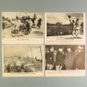 POCHETTE DE 8 PHOTOS DES ACTUALITES ALLEMANDE 19-5-1941 AKTUELLER BILDERDIENST AFRIKACORPS GRECE SPORT