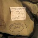 SUR PANTALON DE MOTOCYCLISTE ANGLAIS WW2 COMBINAISON CAOUTCHOUTEE SALOPETTE MOTARD BRITISH MADE 1941 TAILLE 5