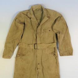 COMBINAISON HBT DE TRAVAIL OU DE TANKISTE AMERICAIN MODELE 1943 MILITARIA US WW2