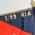 FANION DU 1/99 ème RIA REGIMENT D'INFANTERIE ALPINE 2 ème COMPAGNIE ANNEES 1945 1950 - 99 RIA