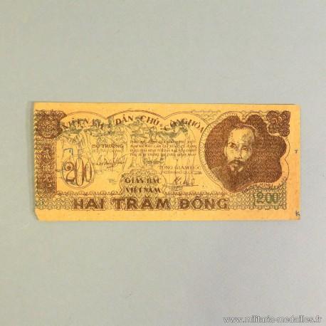 BILLET DU VIET MINH DE 200 DONG VIET NAM DAN CHU CONG HOA HO CHI MINH INDOCHINE