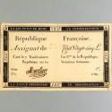 BILLET ASSIGNAT REVOLUTIONNAIRE DE 125 LIVRES AN 2 DE LA REPUBLIQUE N° 1708 SERIE 376 REVOLUTION FRANCAISE
