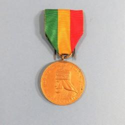 ETHIOPIE MEDAILLE COMMEMORATIVE DE PREMIERE CLASSE DU COURONNEMENT DE HAILE SEDASSIE Ier 1930 CORONATION MEDAL °
