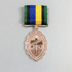 TANZANIE MEDAILLE POUR LONG SERVICE DANS LES FORCES AMEES TANZANIA LONG SERVICE AND ETHICAL CONDUCT IN ARMY FORCES °