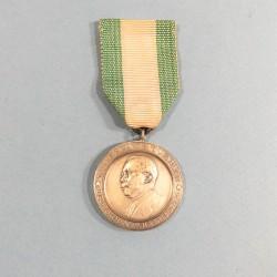 LIBERIA MEDAILLE DE LA CHAMBRE DE COMMERCE DE MOROVIA PRESIDENT V.S. TUBMAN CHAMBER OF COMMERCE MEDAL °