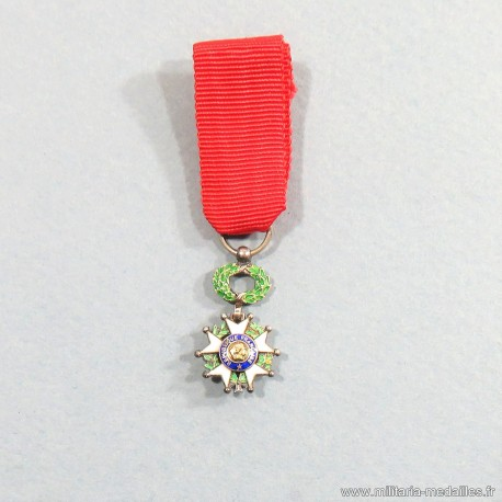 FRANCE REDUCTION MEDAILLE DE CHEVALIER DE L'ORDRE DE LA LEGION D'HONNEUR