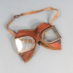 LUNETTES MOTOCYCLISTE PILOTE AVIATION PREMIERE GUERRE 1914 1918
