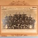 GRANDE PHOTO DU 7 ème REGIMENT DE CUIRASSIERS SOUVENIR DE LA CLASSE 1907 3 ème ESCADRON 2 ème PELOTON A LYON