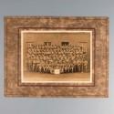 CERTIFICAT DE BONNE CONDUITE ET DEUX GRANDES PHOTOS DU 97 ème RIA REGIMENT D'INFANTERIE ALPINE 1925 A LUDWIGSHAFEN