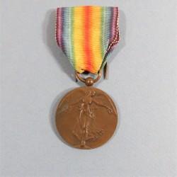 BELGIQUE MEDAILLE INTERALLIEE DE LA VICTOIRE DE LA GRANDE GUERRE 1914-1918