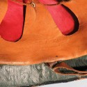 CASQUE DE GENDARMERIE BELGE MODELE DES ANNEES 1950 FABRICATION LE LEVIOR
