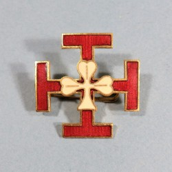 INSIGNE SCOUTS DE FRANCE FABRICATION CHOBILLON DEPOSE ANNEES 1920 1940