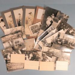 ARCHIVE DE 34 PHOTOS DE LA GENERALE MANGIN INFIRMIERE GUERRE 1914 1918 CARTE DE VISITE GENERAL