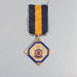 BOTSWANA MEDAILLE POUR OFFICIERS SERVICE LONG DEFENCE FORCE LONG SERVICE MEDAL OFFICER °