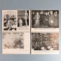 POCHETTE DE 8 PHOTOS DES ACTUALITES ALLEMANDES 23-1-1941 AKTUELLER BILDERDIENST MARINE JEUNESSE SPECTACLE PARTI NAZI