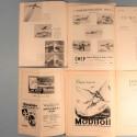 LOT DE 4 REVUES LES AILES MAROCAINES DE LA FEDERATION AERONAUTIQUE DU MAROC ANNEES 1950 AVIATION PILOTE