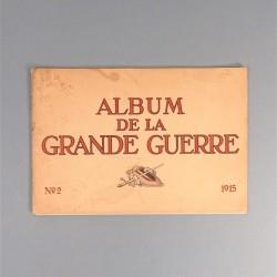 ALBUM DE LA GRANDE GUERRE PROPAGANDE ALLEMANDE 1915 PHOTOS ET LEGENDES EN PLUSIEURS LANGUES