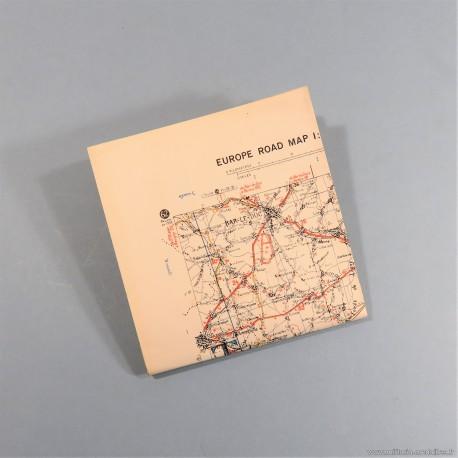 CARTE D'ETAT MAJOR EDITION US WW2 DATEE 1943 FRANCE SECTEUR 66 DIJON - MULHOUSE WAR OFFICE 1943