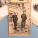 ENSEMBLE DE PHOTOS DU GENERAL MARIE JOSEPH EMILIEN HOURY 1848 1934 PHOTOS CAPITAINE DE TIRAILLEUR 1 PHOTO DE GENERAL UN GENERAL
