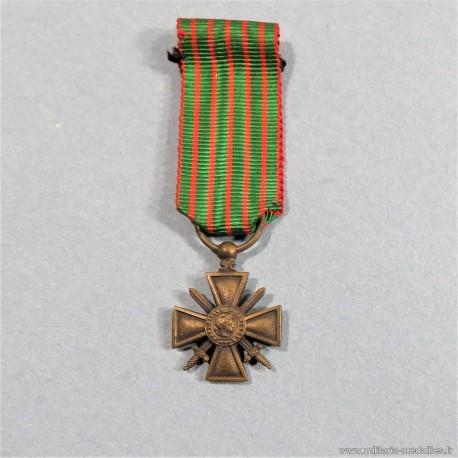 FRANCE REDUCTION DE LA CROIX DE GUERRE 1914 1918 °