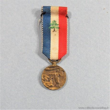 LIBAN REDUCTION MEDAILLE DU MERITE LIBANAIS HONNEUR ET DEVOUEMENT °
