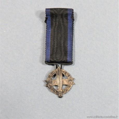GRECE REDUCTION MEDAILLE DE LA CROIX DE GUERRE 1916 -1917 WORLD WAR MEDAL °