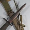 BAIONNETTE COUTEAU USM7 FOURREAU USM8A1 US M7 FUSIL D'ASSAULT M16 FABRICATION ALLEMANDE POUR L'EXPORT