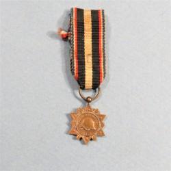 FRANCE REDUCTION DE LA MEDAILLE DE L'AISNE CHEMIN DES DAMES 1914-1918 ET 1939-1940 °