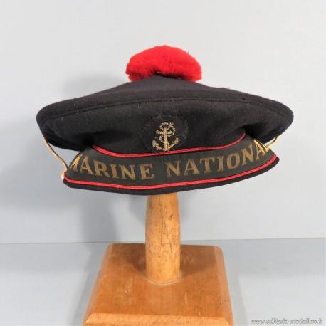 BACHI FABRICATION DE LONDRE FNFL BANDEAU MARINE NATIONALE 1940 1945 FABRICATION ANGLAISE